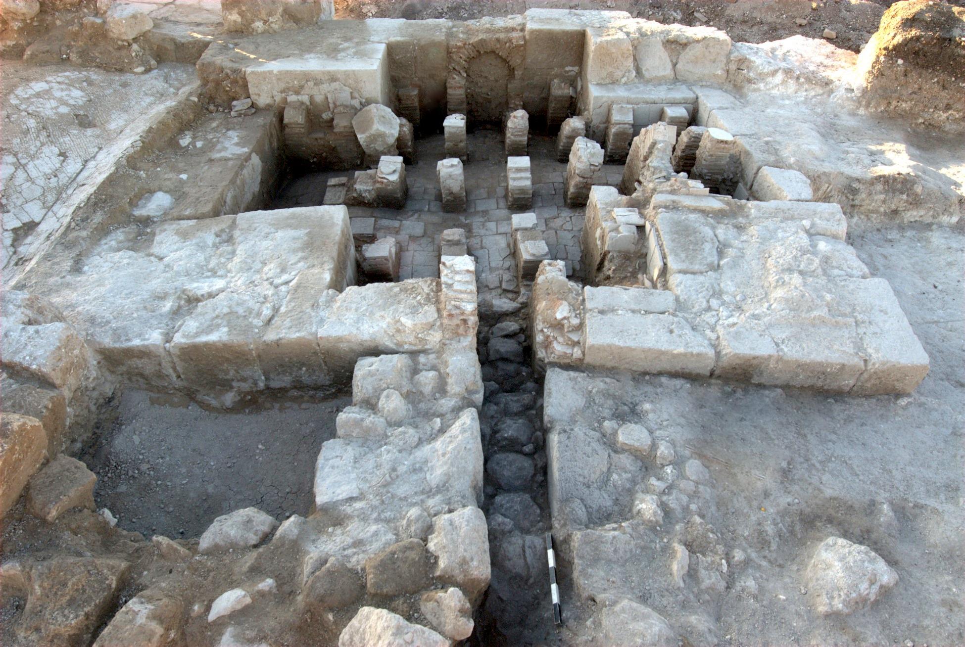 בית מרחץ בן 1600 שנה התגלה ליד מושב תרום שביהודה
