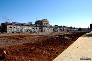המתחם המחודש של תחנת הרכבת הישנה בירושלים - צילום: אפי אליאן