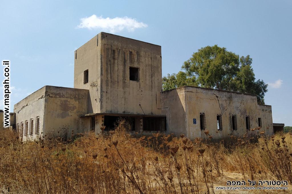 תחנת המשטרה הבריטית באטאני הסמוכה לבאר טוביה - צילום: אפי אליאן