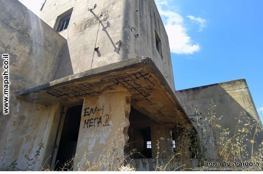 הכניסה הראשית למשטרת באטאני - צילום: אפי אליאן