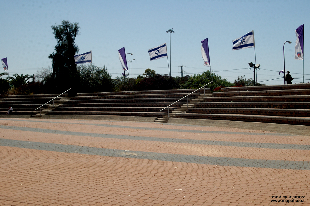 רחבת הטקסים במצודת יואב - צילום: אפי אליאן