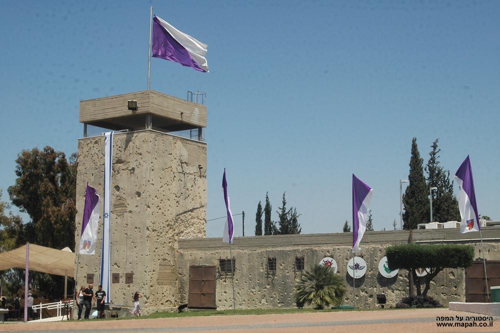 המגדל והדופן המערבית - מצודת יואב - צילום: אפי אליאן