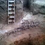 האתר הארכיאולוגי שהושחת על פי החשד על ידי גורמים דתיים - צילום: אמוץ עגנון