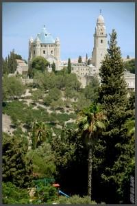 """צילום מתצפית מגדל ימק""""א לעבר כנסיית הדורמציון - צילום: אפי אליאן"""