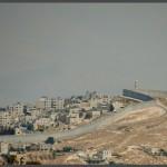 """חומת ההפרדה במבט מתצפית מגדל ימק""""א ירושלים - צילום: אפי אליאן"""