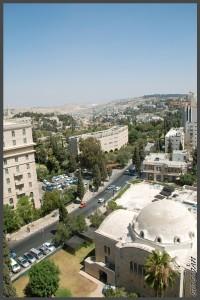 """מבט לדרום העיר ירושלים ממגדל ימק""""א ירושלים - צילום: אפי אליאן"""