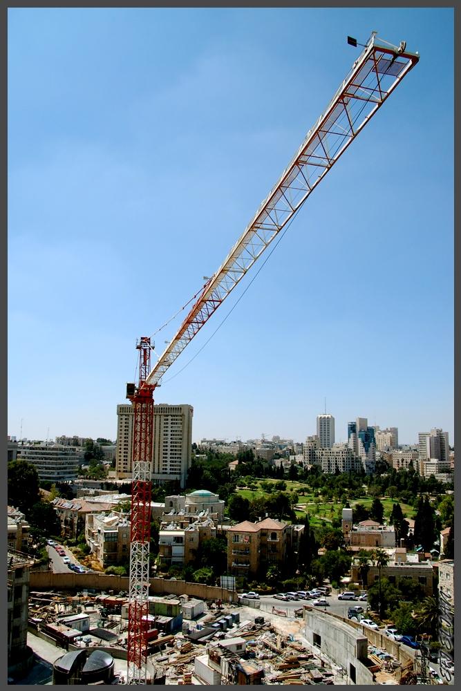 מבט למערב העיר ירושלים ממגדל YMCA גן העצמאות - צילום: אפי אליאן