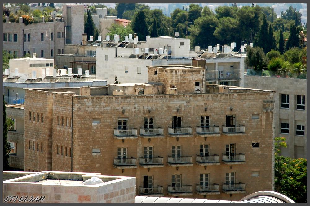 בניין מלון פרזדנט ירושלים הנטוש - צילום: אפי אליאן