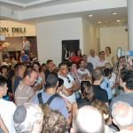 תחילת הסיור בקניון דיזנגוף סנטר - צילום: אפי אליאן