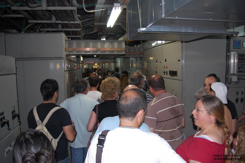 חדר החשמל בקומה מינוס 3 - צילום: אפי אליאן