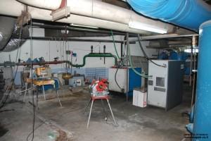 חדר התחזוקה בקומה מינוס שלוש - צילום: אפי אליאן