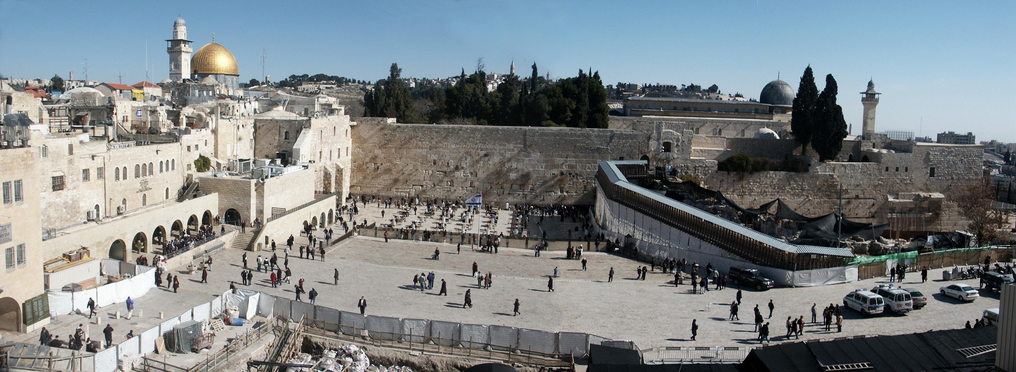 הכותל המערבי , הר הבית והחפירות הארכיאולוגיות - צילום: Assaf Shtilman