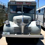 אוטובוס מדגם דודג' במוזיאון הרכב ההיסטורי - צילום: אפי אליאן