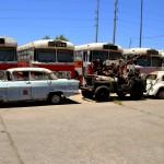 קצה השדרה והמכוניות המיועדות לשחזור - צילום: אפי אליאן