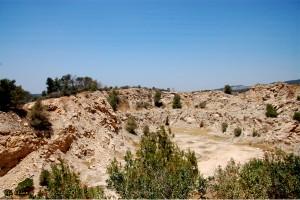 מחצבה בהרי בית שמש - צילום: אפי אליאן