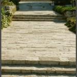 שביל הכניסה לגן הורדים בירושלים - צילום: אפי אליאן