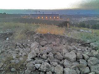 ההרס כתוצאה מהחפירות הבלתי חוקיות באתר. צילום: באדיבות רשות העתיקות
