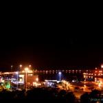 צילום לילה לעבר המרינה של נמל אשדוד - צילום: אפי אליאן