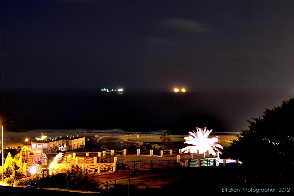 חוף הים והטיילת של רובע א' באשדוד - חוף מי עמי - צילום: אפי אליאן