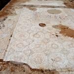 העיטורים בפסיפס הכנסייה באשקלון