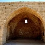 מבט לפנים ההיכל המזרחי של קבר השיח עוואד