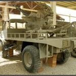 יונימוג משאית קלה בעלת מקלע דו קני מתוצרת רוסיה
