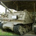"""טנק בתצוגה רחבה במוזיאון בתי האוסף של צה""""ל"""