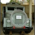 אוטובוס ממוגן מדגם סנדוויץ מבוסס על שלדת משאית 1948