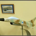 דגם מטוס לביא בביתן האחמים