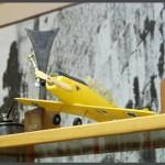 דגם מטוס בביתן האחמים
