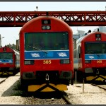 3 מערכי רכבת מודו מתוצרת ספרד בשירות רכבת ישראל