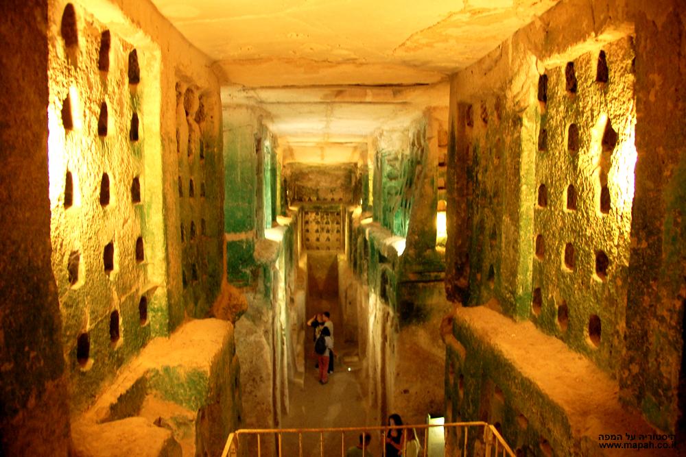 מסע לבטן האדמה אל מערות הפעמון (בית גוברין)