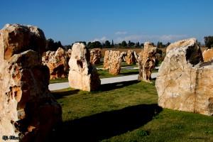 גן 73 הסלעים באתר הזכרון לחללי אסון המסוקים