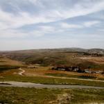 מבט לכיוון דרום מראש מבצר הרודיון