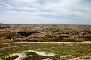 מבט למזרח מראש מבצר הרודיון