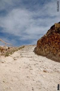 הדרך העולה אל מבצר ההרודיון