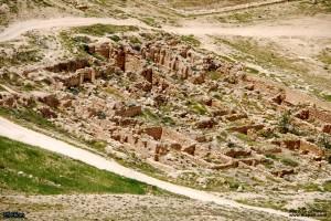 שרידי מבנים שנחשפו מזרחית להרודיון