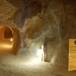 חלק ממערכת המערות הרבות במעמקי ההרודיון