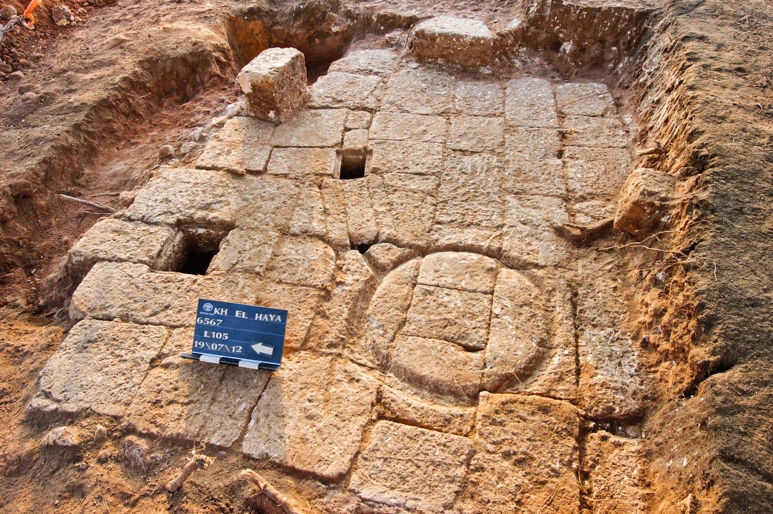 בית הבד שנחשף בחפירות בהוד השרון - צילום: דוראר מסראווה, באדיבות רשות העתיקות
