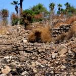 שרידי מבנה בתל יבנה