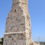 המינרה, מגדל המסגד שפעל בתקופת כפר יבנא עד לשנת 1948