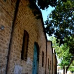 בניין היקב של בית הספר מקוה ישראל