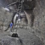 מאגר המים שנחשף בסמוך לכותל המערבי בירושלים