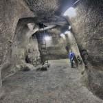 מאגר המים שהתגלה בסמוך לכותל המערבי בירושלים - צילום: ולדימיר נייחין