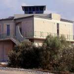 בית ראשונים במוזיאון חיל האויר בנוי לפי דגם מגדל הפיקוח בסירקין