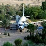 מטוס הראם 707 המשמש להצגת סרטי וידאו