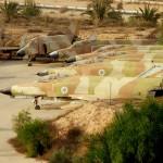 מאגר מטוסי הפאנטום שהוצאו משירות בחצרים