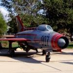 מיקויאן מיג- 17 פרסקו מטוס שלל במוזיאון חיל האויר בחצרים