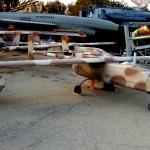 """מזל""""ט תוצרת התעשיה האוירית ישראל במוזיאון חיל האויר חצרים"""