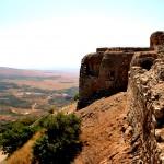 חומות המצודה המערביים
